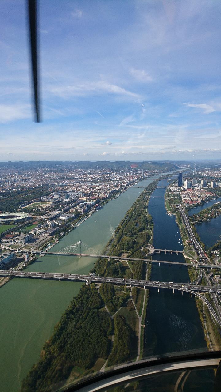 #Wien #Rundflug #Praterbrücke